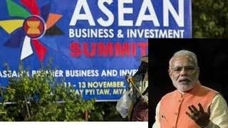 PM Narendra Modi at 12th ASEAN-iNDIA Summit Myanmar