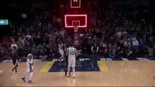 NBA: Courtney Lee's Unbelievable Reverse Alley-Oop - Taco Bell Buzzer Beaters