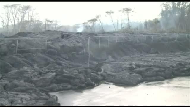 Lava Nears Transfer Station
