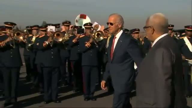 Biden Arrives in Morocco With Grand Welcome