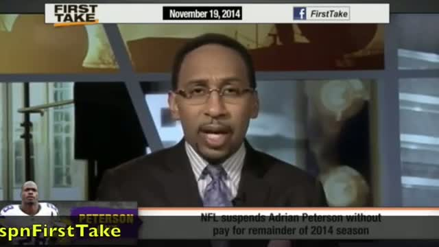 First Take - NFL Suspends Adrian Peterson For Remainder Of Season