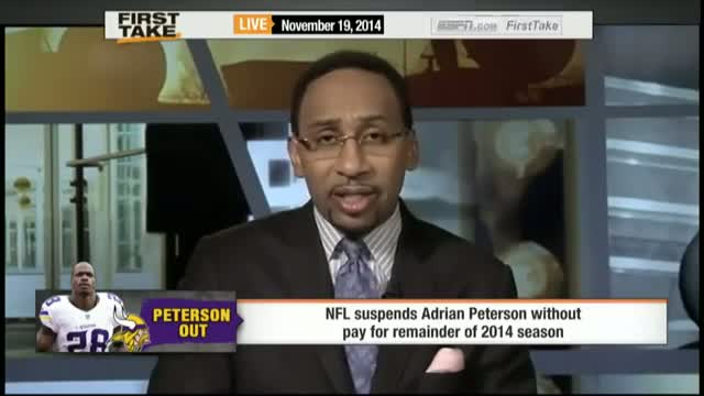 Adrian Peterson Suspended For Rest of Season!