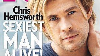 CHRIS HEMSWORTH Named $exist Man Alive!