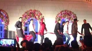 Check Out Salman Khan And Family Dance For Arpita Khan's Wedding
