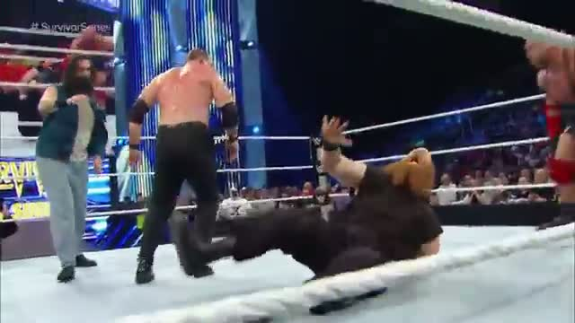 Big Show & Ryback vs. Kane & Seth Rollins: WWE SmackDown, November 21, 2014