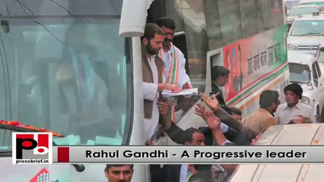 Congress VP Rahul Gandhi - progressive and genuine leader never hungry for power