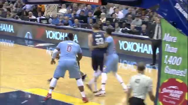 NBA: Tony Allen Freezes the D with the Nasty Fake for the Layup