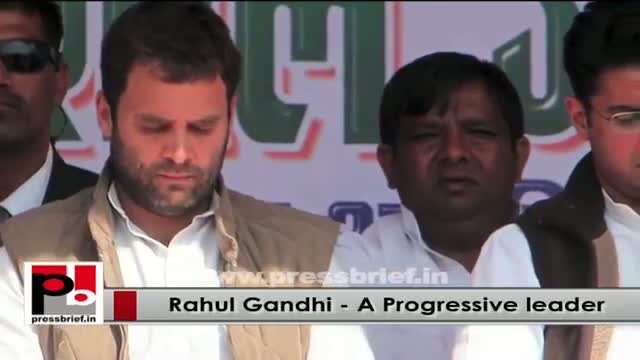 Rahul Gandhi - progressive and genuine Congress leader; never hungry for power