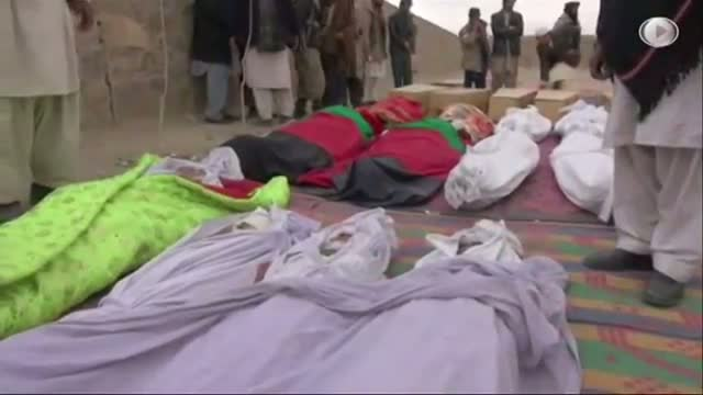 Aftermath of Deadly Afghanistan Attack