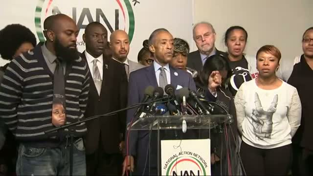 Sharpton: 'Pray for These Families'