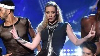 Iggy Azalea AMAs 2014 Performance Of Fancy & Charli XCX Performance Of Beg For It Was Hot