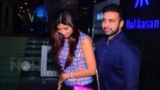 Caught!! Hot Shilpa Shetty & Raj Kundra Partying