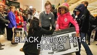 Black Friday Fight 2014 COMPILATION: Walmart and Tesco MADNESS