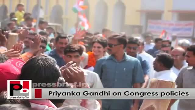 Young Priyanka Gandhi Vadra - progressive and inspiring leader like Indira Gandhi
