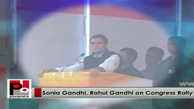 Progressive and energetic leaders - Rahul Gandhi and Sonia Gandhi
