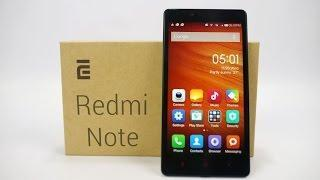 Xiaomi Redmi Note - Unboxing & Hands On