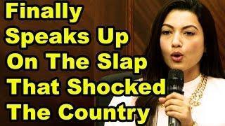 Gauhar Khan Slap Controversy - Gauhar Khan Speaks - Full Speech