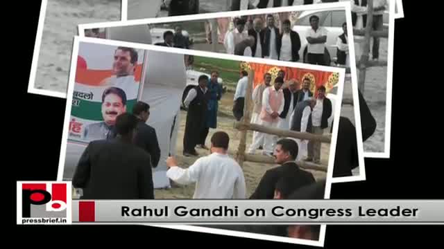 Rahul Gandhi - young Congress leader with progressive ideas