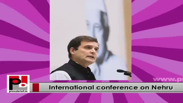 Sonia Gandhi, Rahul stresses for protecting secular values at Nehru conference