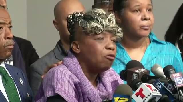 Garner's Family Asks for Peace As Protests Erupt