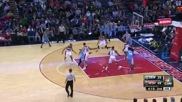 NBA: Nuggets vs, Wizards Highlights - December 5th