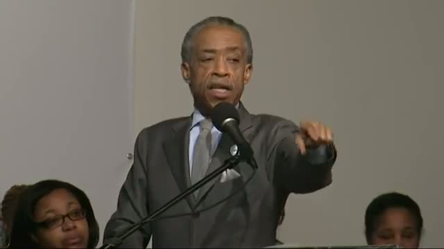 Sharpton Announces National March to Capitol Video
