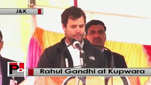 J&K polls: At Kupwara, Rahul Gandhi attacks 'anti-poor' Modi govt, BJP