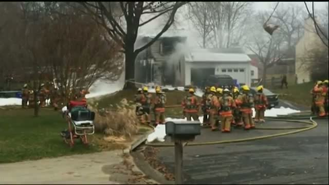 Small Plane Crashes Into MD Home Video