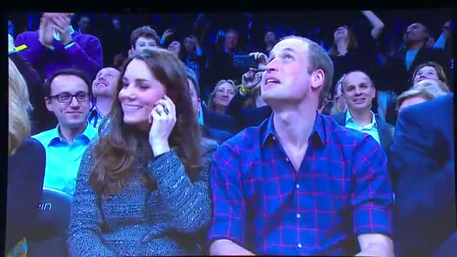 NBA: Jay Z and Beyonce Welcome the Duke and Duchess of Cambridge to Brooklyn!