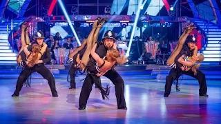 Strictly Come Dancing 2014: Strictly Pros Dance to 'Rock This Town'