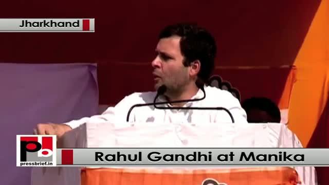Jharkhand polls: Rahul Gandhi addresses poll rally in Manika, takes on Modi govt