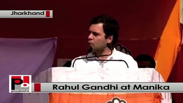 Jharkhand polls: Rahul Gandhi addresses poll rally in Manika, targets Modi govt