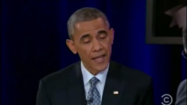 Obama to Colbert: 'I Love This Job' Video