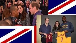 Princess Kate and Prince William Meet Queen Bey and Jay Z Video