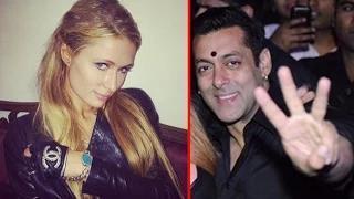 Salman Khan Gifted His BRACELET To Paris Hilton Video