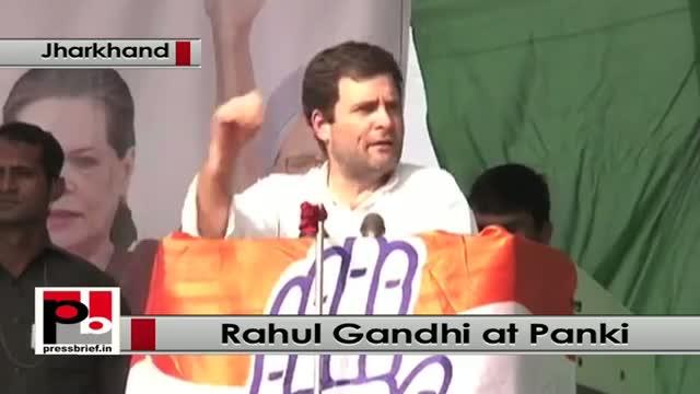 Jharkhand polls: Rahul Gandhi addresses poll rally in Panki, takes on Modi govt