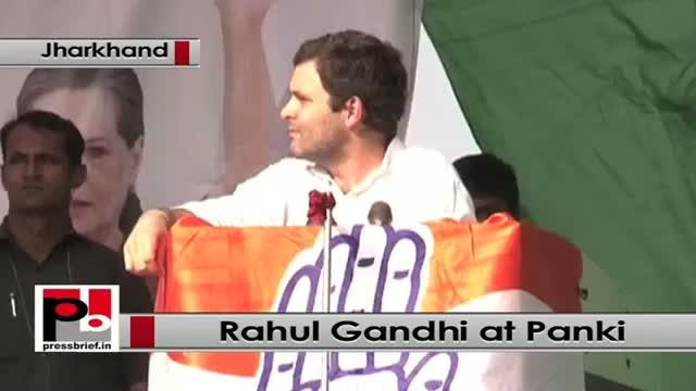 Jharkhand polls: Rahul Gandhi addresses poll rally in Panki, targets Modi govt