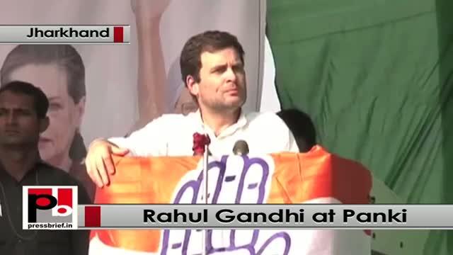 Jharkhand polls: Rahul Gandhi attacks Modi govt in poll rally at Panki