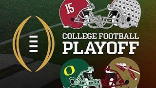 College Football Playoff Coaches Meet in Fla. Video
