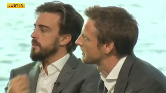 McLaren-Honda announces Fernando Alonso & Jenson Button for 2015 Video