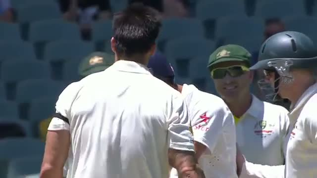 Kohli Hit on the Head by a Johnson Bouncer Video - IND vs AUS Test 2014