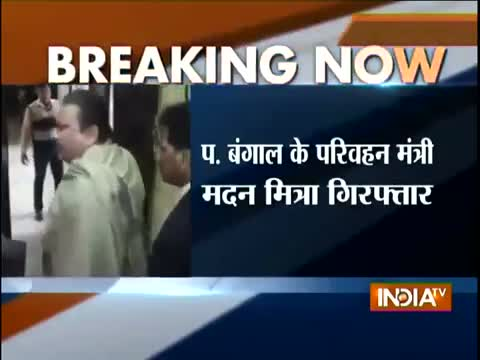 CBI arrests West Bengal Transport Minister Madan Mitra in the multi-crore Saradha chit fund scam video