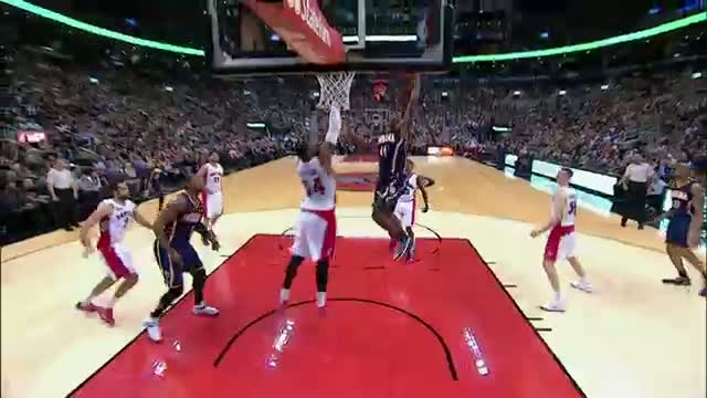 Solomon Hill Makes a Strong Drive for the Monster Throwdown Video