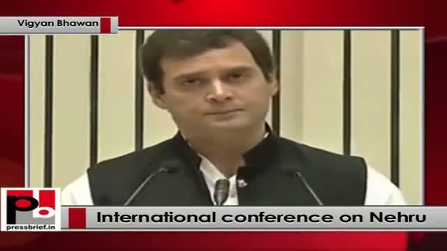 Let us learn from Pt Nehru: Rahul Gandhi