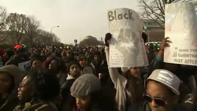 Thousands in DC Protest Police Killings Video