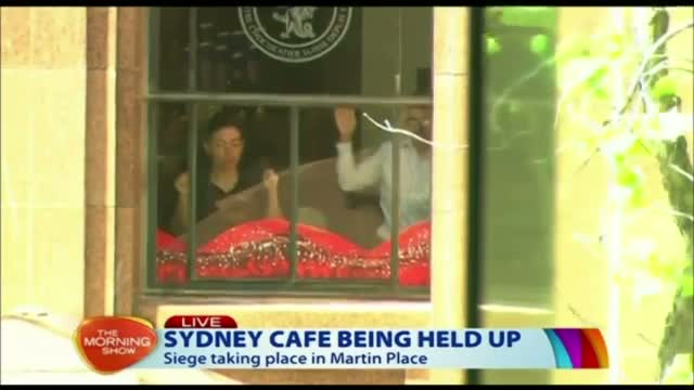 Apparent Hostage Situation Erupts in Sydney Video