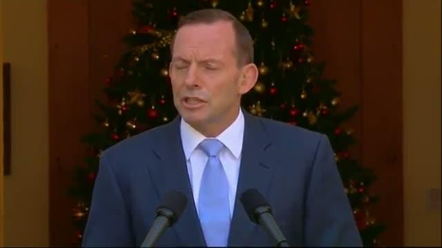 Australian PM Speaks on Sydney Cafe Siege Video