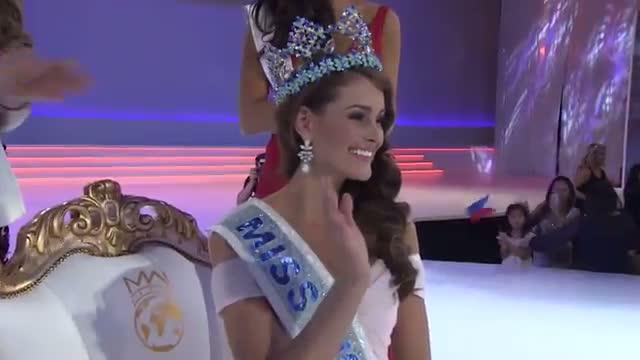 Miss World 2014 - Winners First Interview - Miss South Africa Video