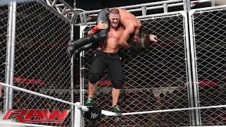 John Cena vs. Seth Rollins - Steel Cage Match: WWE Raw, December 15, 2014