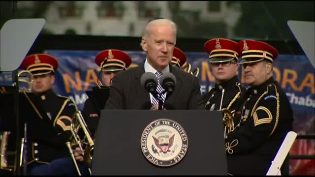 Joe Biden Speaks at National Menorah Lighting Video